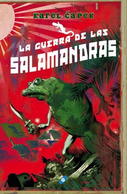 La guerra de las salamandras gigamesh